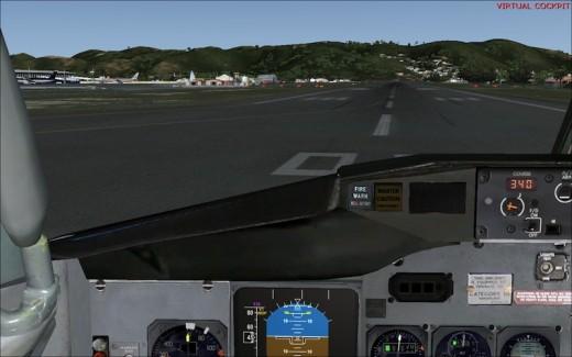 Wilco 737 - cockpit 3D
