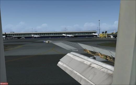 Wilco 737 - alignement sur la piste