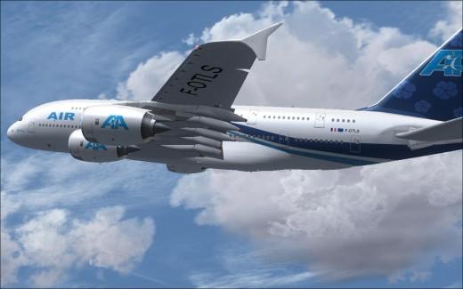 A380 Air Austral - 2