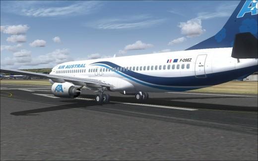 B738 Air Austral - 1
