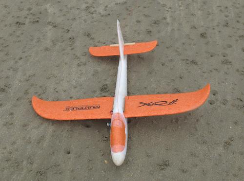 Le Fox sur la plage
