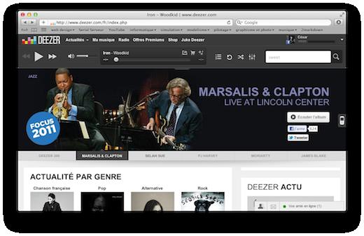 deezer - Clapton/Marsalis